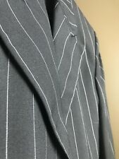 Black w/ White stripe 4 button Tuxedo Coat Zoot suit style 35 Short by After Six