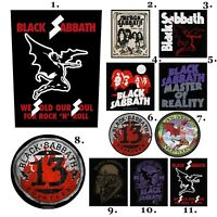 Black Sabbath Patch Embroidered Patches Metallica Led Zeppelin AC/DC Official