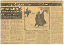 Arthur Conan Doyle Fletcher Robinson The Chase in the Snow October 29 1905 B24