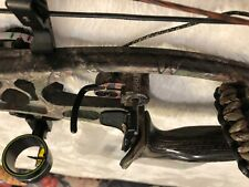 "hoyt spyder 30 compound bow 25"" draw @ 80lbs in real tree AP camo"