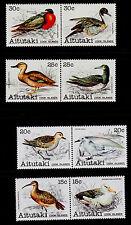 AITUTAKI   SCOTT# 231-238  MNH   BIRDS