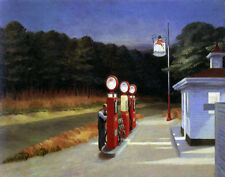 Hopper Edward Gas Canvas 16 x 20   #4701
