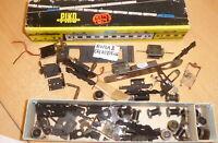 Piko H0 DDR großes Konvolut Ersatzteile für die NOHAB Lok, Radsätze,Motore, etc.