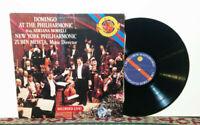 Placido Domingo, Zubin Mehta, Adriana Morelli, N.Y. Philharmonic, LP 1989