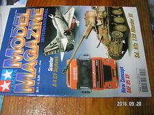 1µ?a Revue Tamiya Model Magazine n°54 DAF 95 XF Marder III Porsche 962 Dauer