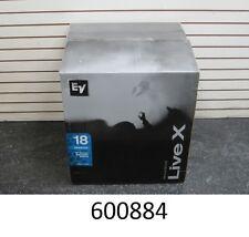 "Electro-Voice EV ELX118 18"" Sub Woofer Loudspeaker ELX 118 Speaker Live X 700w"