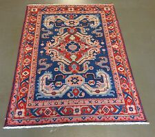 4 x 6 caucasian shirvan hand knotted wool rug 4 x 6