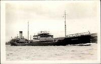 Schiffsfoto-AK Ship Real Photo ~1950/60 Marine Seefahrt Frachtschiff BOARDALE