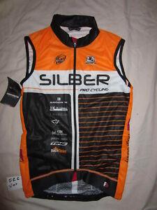 NEW- Team Silber, Giordana FR-C Wind Vest, XS