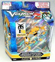 Voltron Yellow Lion Metal Defender Figure Toy New NOS MIP 2017