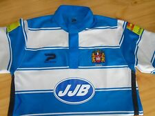 MENS AUTHENTIC PATRICK WIGAN RUGBY TOP/ SHIRT.SIZE MEDIUM.