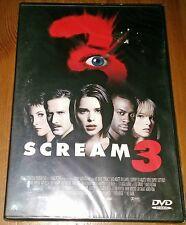 SCREAM 3 (NEW DVD) NEVE CAMPBELL & DAVID ARQUETTE R0