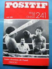 Cinéma revue Positif 241 1981 Michael Powell Elia Kazan Martin Scorsese Rohmer