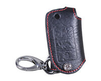 Leather Remote Key Chain Holder Case Fob Fit for VW POLO PASSAT TIGUAN Beetle CC