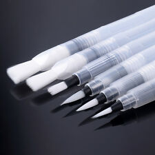 water brush pen ink watercolour calligraphy for painting self-moistening x6 94F