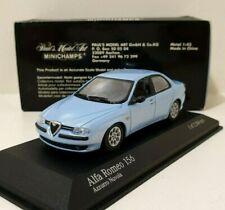 MINICHAMPS 1/43 Alfa Romeo 156 Saloon 1997 Blue Edition Limited 2304 Pieces