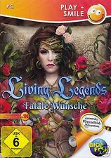 Living Legends: Fatale Wünsche (Wimmelbild-Abenteuer) PC NEU