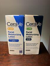 CeraVe Facial Moisturizing Lotion PM Ultra Lightweight 3 Fl oz & AM Facial 12/20