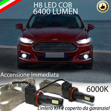 KIT FULL LED FORD MONDEO IV LAMPADE H8 FENDINEBBIA CANBUS 6400 LUMEN 6000K