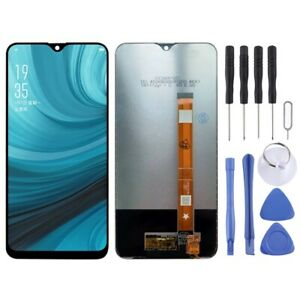 BLACK LCD Panel Screen Digitizer Full Complete For Oppo A7 / A5s / AX7