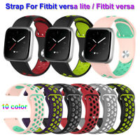 Silicone Watch Band Wristband Classic For Fitbit Versa Lite / Fitbit Versa