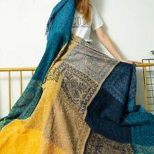 New Cotton Chair Blanket Sofa Cover Towel Bedspread Soft Bedding Tapestry