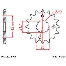 Pignon acier 13 dents jt chaîne 520 aprilia rs250 Jt sprockets JTF436.13