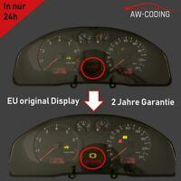 Audi A4 S4 B5 FIS 1/2 Display MFA Pixelfehler Reparatur Tacho Kombiinstrument