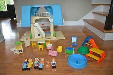 little tikes play house doll house  set