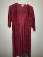 NWT lularoe shirley Small maroon Brand New With Tags Free Shipping