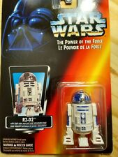 NIB Star Wars Power of The Force R2-D2 Action Figure Red Card