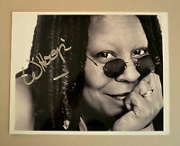 Whoopi Goldberg Signed 10x8 Photo Autograph Sister Act Film Memorabilia + COA