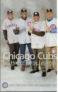 SPORTS (2005) MEDIA GUIDE: Chicago Cubs (Williams Jenkins Banks Sandburg)
