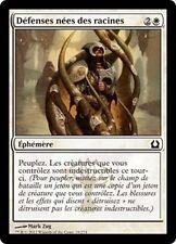 MTG Magic RTR FOIL - Rootborn Defenses/Défenses nées des racines, French/VF
