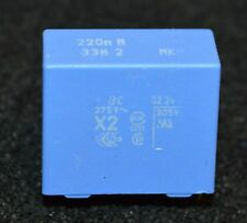 220nF 275V AC class X2 338 series 15mm pitch Suppresion (L3235)