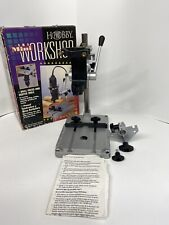 BRAND NEW HOBBY PRO WORKSHOP DREMEL DRILL PRESS AND ROUTER TABLE