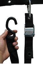 Heavy Duty S-HOOK  Hardware Strap Kit (Set of 2) | By Gladiator Cargo Gear (ASH)