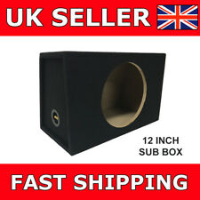 12 Inch Sub Box Subbox Subwoofer Sealed Enclosure 12 Inch Box For Sub Brand NEW
