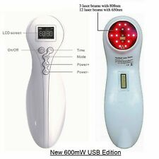 Cold Laser Therapy Body Pain Relief 600mW Soft Healing Lazer Device Pet Friendly