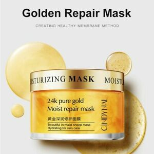 24k Golden Repair Night Mask Anti Aging Essence Skin Hydrating For Skin Care