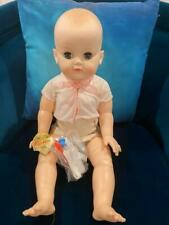 "Effanbee Dy-dee Baby HTF 21"" Red Cross Pre-Natal Educational Doll 1970 NWT F&B"
