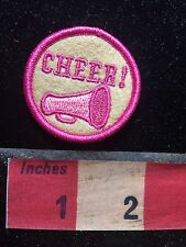 """CHEERLEADER CHEER! - Small Patch 1 5/8"""" (PERFECT FOR BAGS / JACKETS) 76X2"""