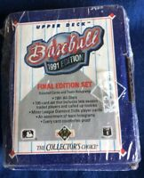 1991 Upper Deck Baseball Card Final Edition Set