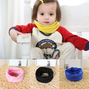 Boy Breathable Kids Knit Toddler Candy Colors Scarf Baby Warm Cotton Girl Winter