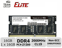 16GB DDR4 2666MHz PC4-21300 SODIMM Laptop Memory RAM Module Upgrade SDRAM 1.2v