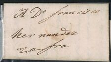 PREFILATELIA* 1847  * CARTA DE TRUJILLO A ZAFRA *