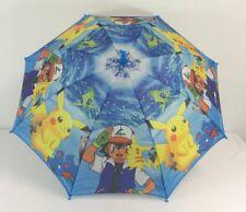 Pokemon Go pikachu Ash ketchum Umbrella Kids Umbrella +Whistle