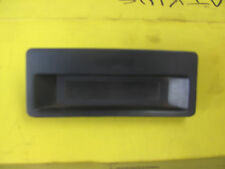 ★ Mazda 323 Used Dash Clock Bezel Trim with Delete plate  ★ 1986 To 1989