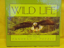 RON SANFORD WILD LIFE 700PC PANORAMIC PUZZLE/2002 NEW NO.2903-4