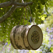 Wildlife World Pollinating Bee Log Natural Home For Garden Bees